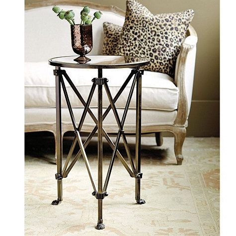 Olivia Mirrored Side Table From Ballard 149