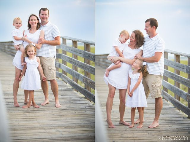 Family Of Four Beach Photo Shoot Boardwalk Photos Orange Alabama Gulf Coast Photography