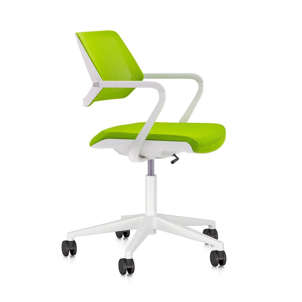 Lime Green Qivi Desk Chair Modern Office Furniture  Office