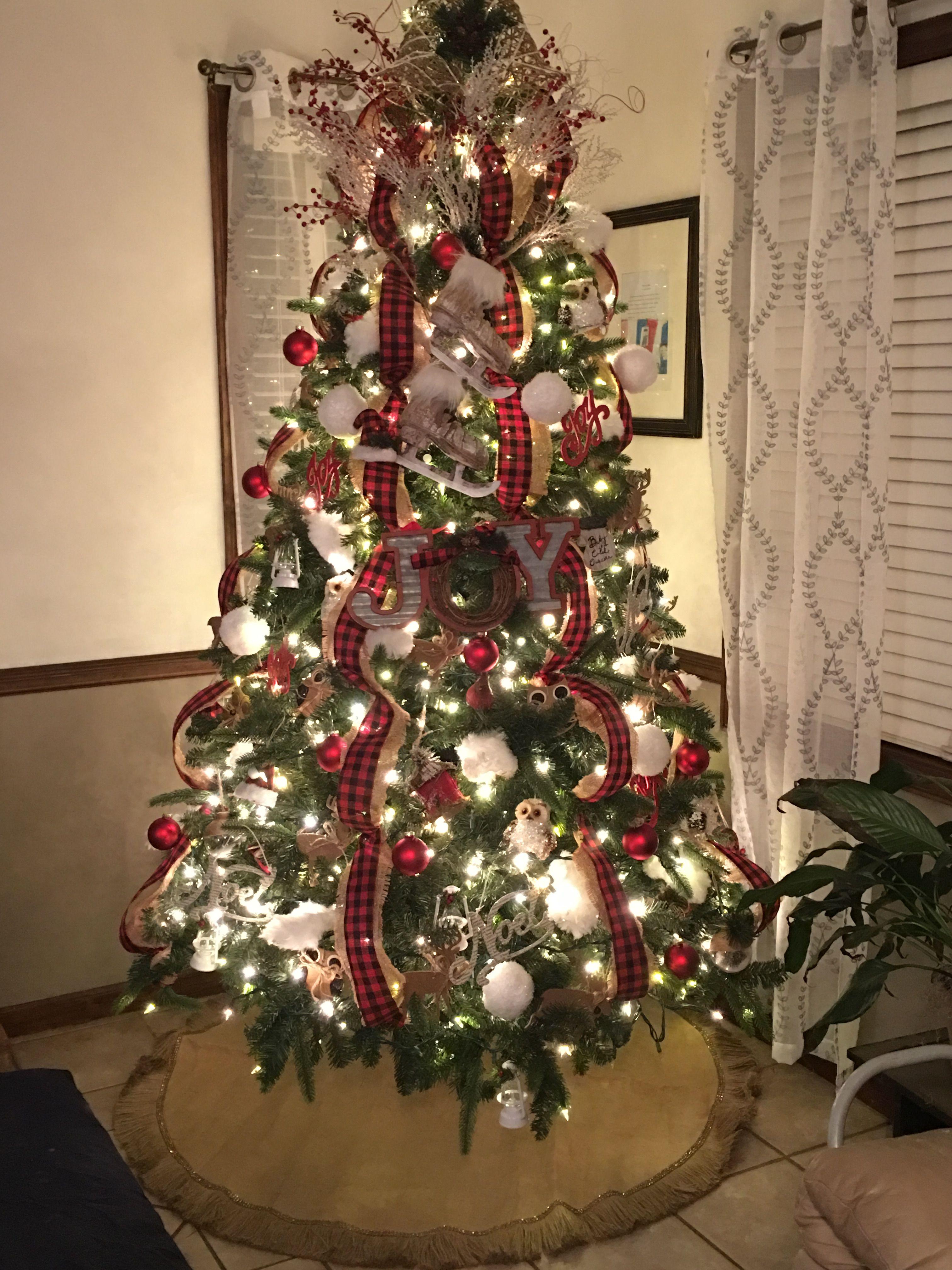 Buffalo Creek Plaid Tree Plaid Christmas Decor Buffalo Plaid Christmas Tree Christmas Tree Inspiration