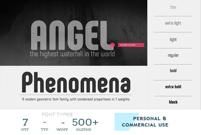 54 Best Free Professional Fonts Trending in 2018 Professional