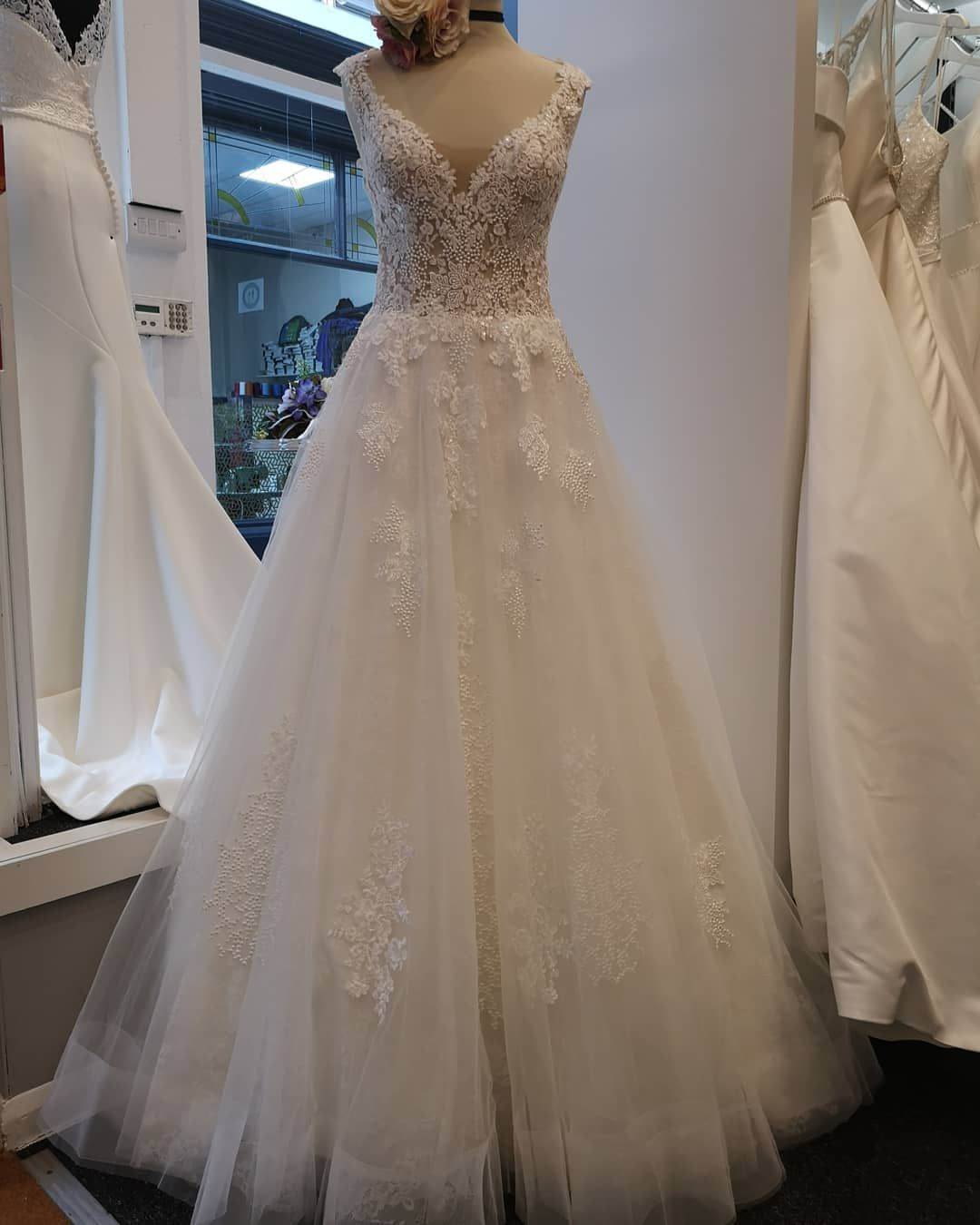 Perfection Bridal Cardiff On Instagram We Are All Over Our Latest Justin Alexander Arrival Who Would Like To Meet H Bridal Dresses Wedding Outfit Bridal