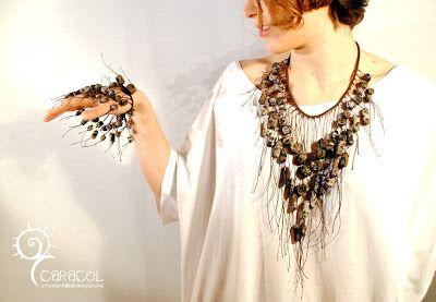 Caracol di Eleonora Battaggia: collane