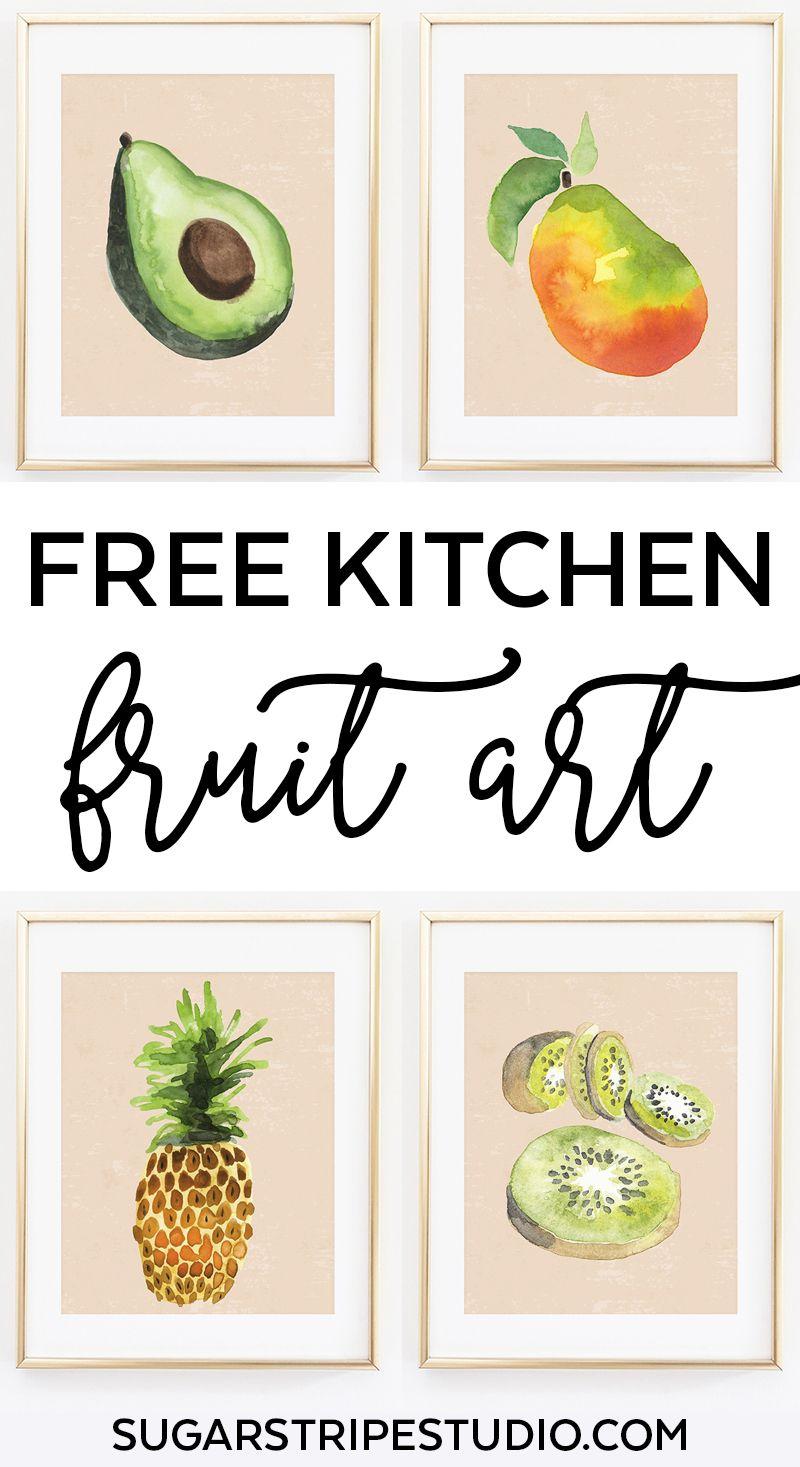Free Kitchen Wall Art Fruit Art Series Kitchen Wall Art Vintage Kitchen Wall Art Printables Kitchen Printables Free Prints