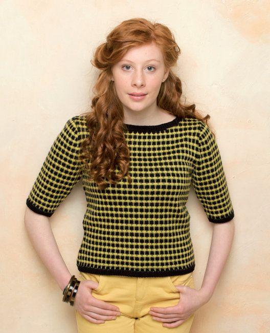 Free knitting pattern - Claudia by Marie Wallin in Rowan Siena 4 Ply ...