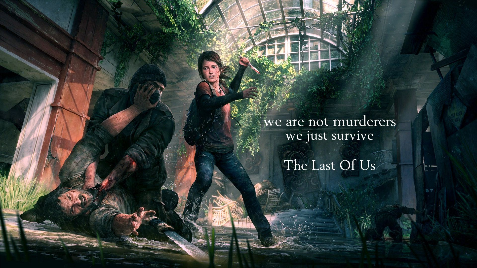 The Last Of Us Wallpaper Hd The Last Of Us Last Of Us Remastered Beyond Two Souls