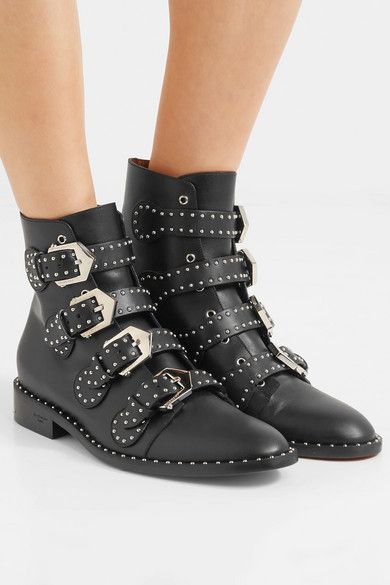 882c8a3379e Givenchy - Elegant studded leather ankle boots in 2019 | Shoes ...