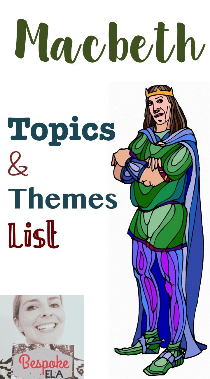 This Product Contains A List Of Topics And Related Themes For  This Product Contains A List Of Topics And Related Themes For Shakespeares  Play Macbeth Use This Document As A Key Or Differentiate This Activity By   Classification Essay Thesis also Business Management Essays  Pay Someone To Do My Report For University