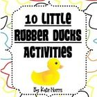 Eric Carle S 10 Little Rubber Ducks Book Activities Rubber Duck Book Activities Eric Carle