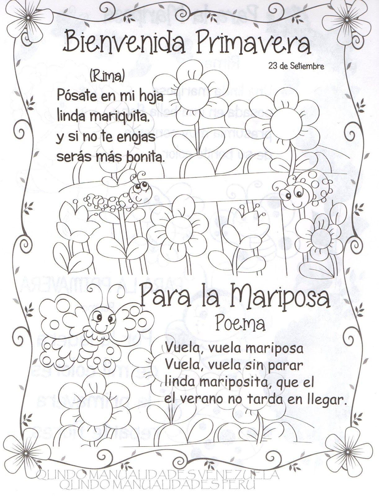 Poema Por El Dia Del Campesino Para Niños De Inicial Manualidades En Foami Fofuchas Fomy Goma Eva Mariquitas