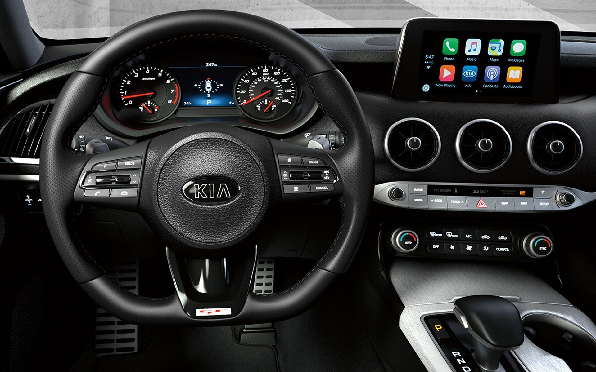 You Ll Feel Right At Home With These Interior Features On The Kia Stinger Kia Stinger Kia Car Repair Service