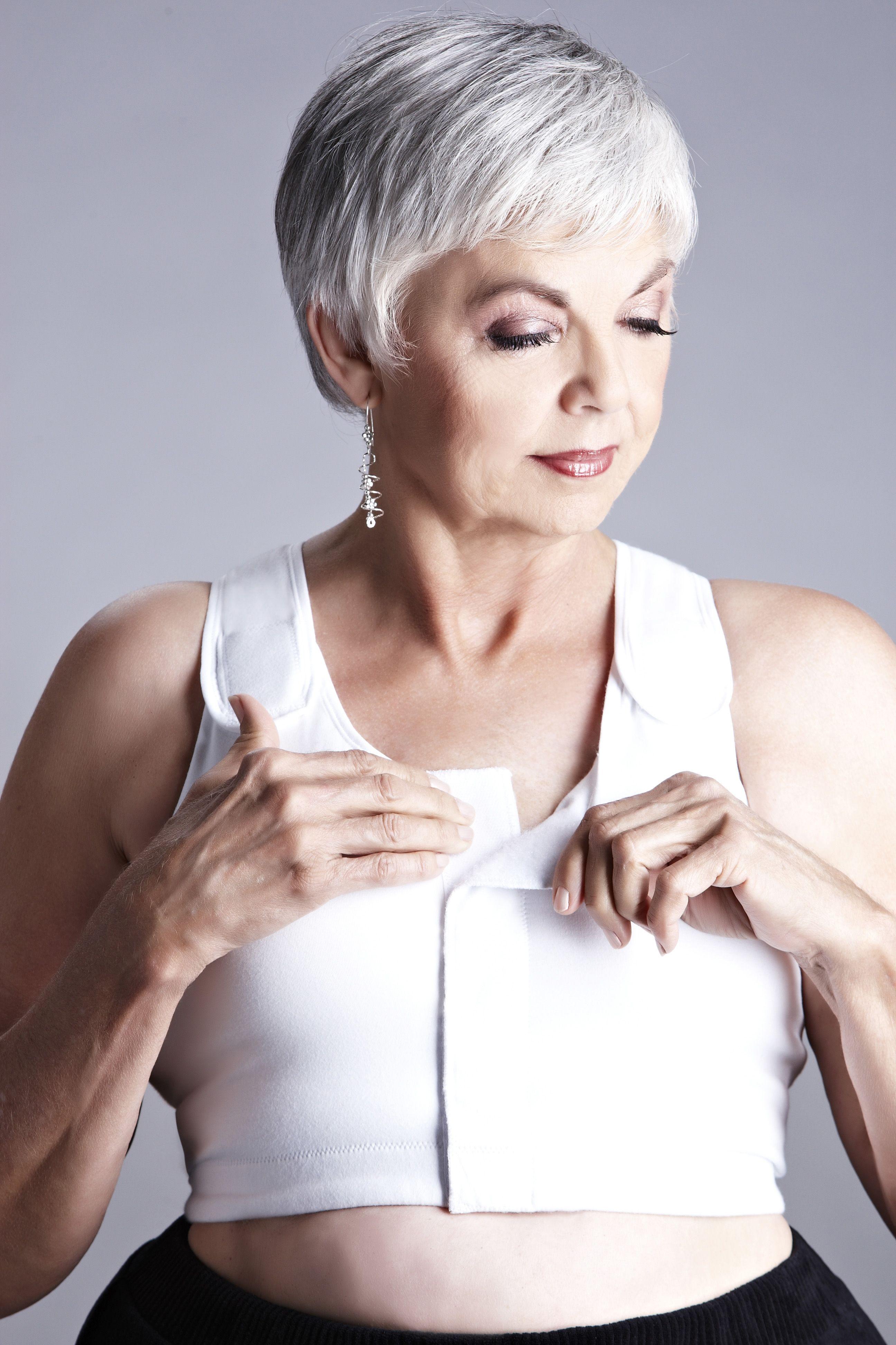 4b232e4c3c044 American Breast Care Velcro Front Compression Bra