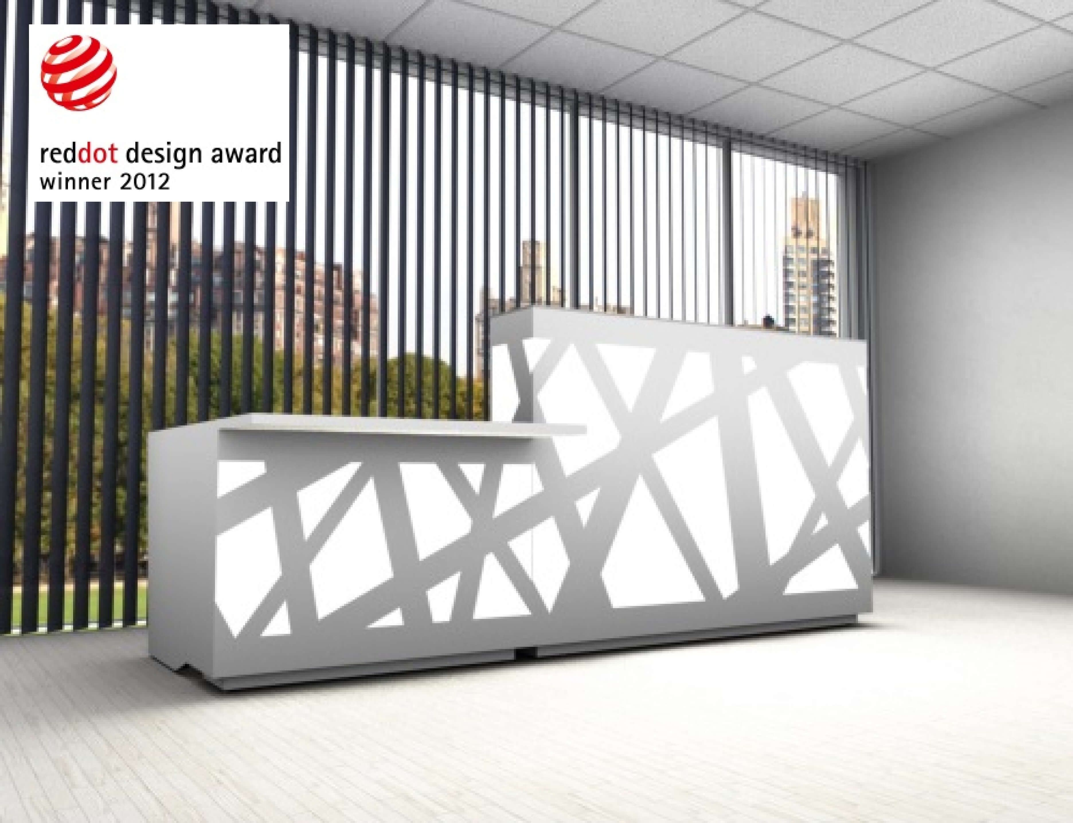 The Zig Zag Countertop Straight Reception Desk Is A Masterpiece By