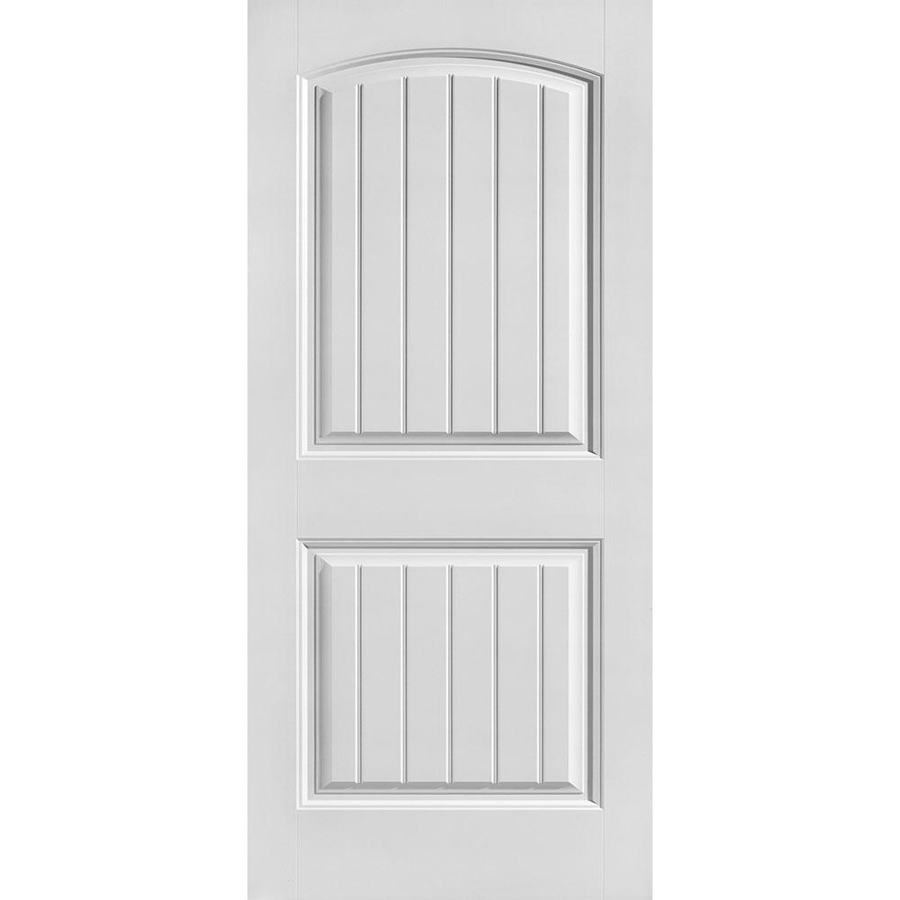 Masonite 36 In X 80 In Solidoor Cheyenne Smooth 2 Panel Camber Top Plank Solid Core Primed Composite Interior Door Slab 25031 The Home Depot Doors Interior Masonite Interior Doors Interior Door Styles