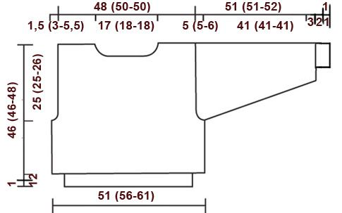 Rosie Fall / DROPS 44-18 - DROPS palmikkopusero Alaska-langasta. - Free pattern by DROPS Design