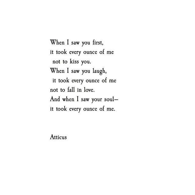 'Every Ounce' @Atticuspoetry #Atticuspoetry #atticus