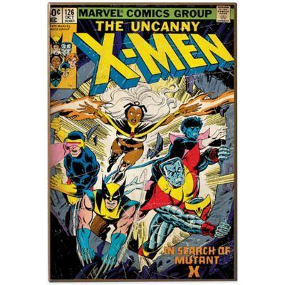 Marvel Uncanny X Men Comic Book Cover Wall Plaque Comic Covers Marvel Comics Covers Comic Book Covers