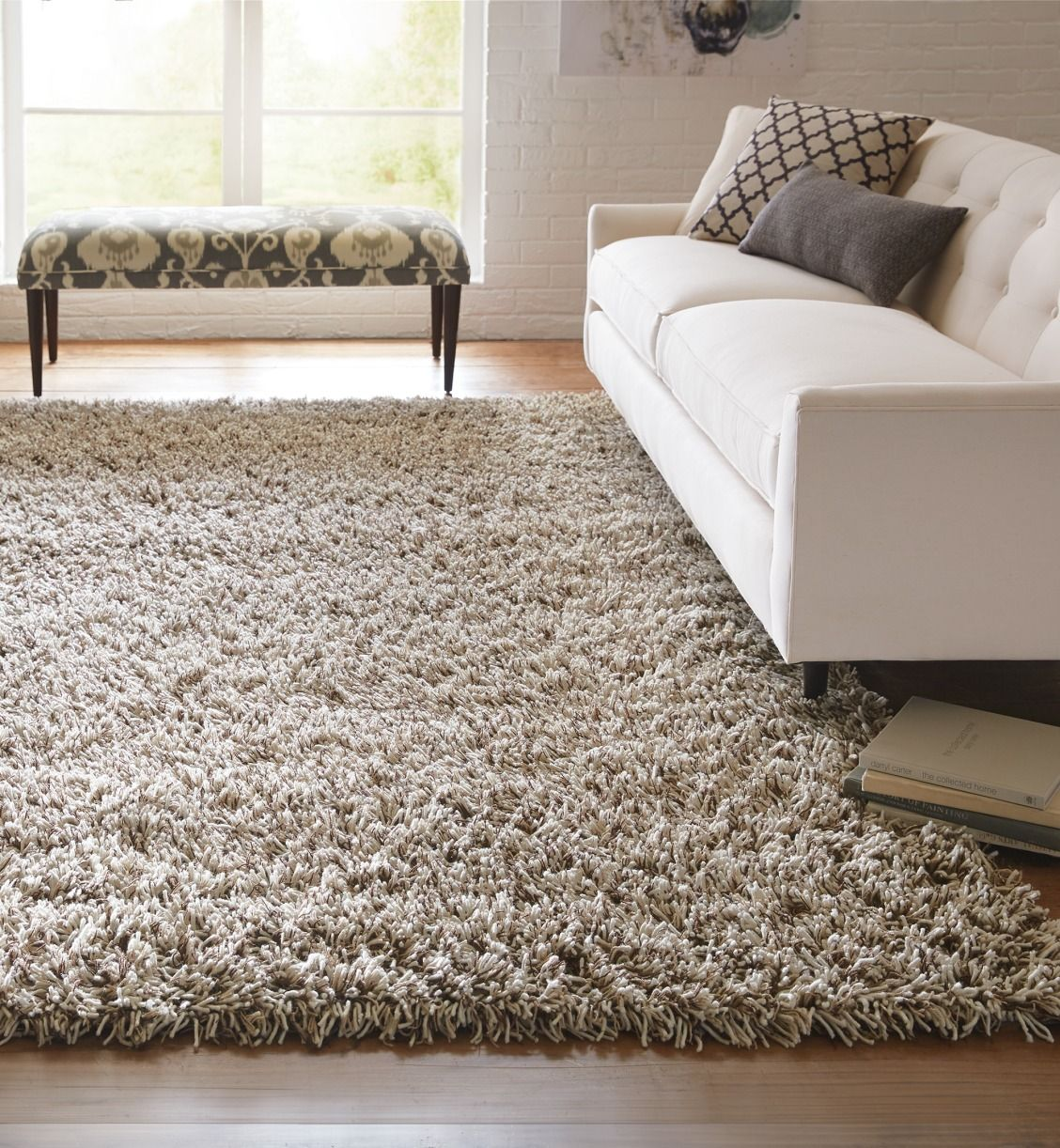 Stay Cozy Inside With A Shag Rug Our Cozy Shag Rug Comes In A Large Selection Of Colors To Fit You Rugs In Living Room Living Room Carpet Shag Rug Living