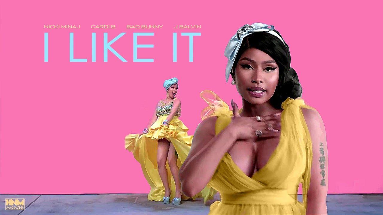 Nicki Minaj Cardi B Bad Bunny J Balvin I Like It Mashup Youtube