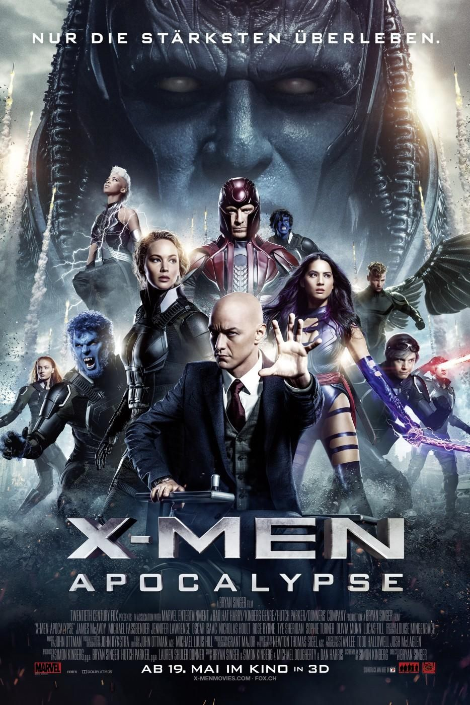 X Men Apocalypse  Artwork