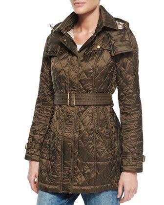 d7a71afda89 Women's Coats & Jackets   Burberry Coats   Parka coat, Burberry brit ...