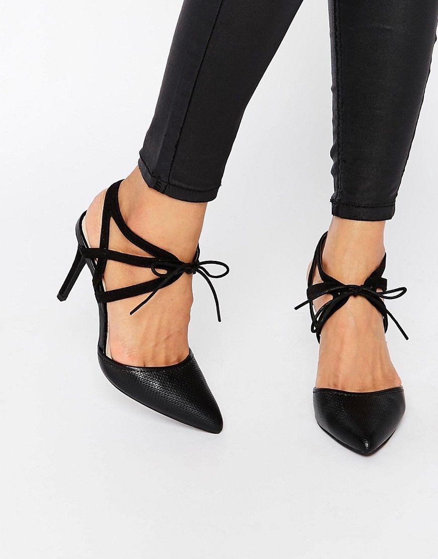 New Look Comfort Weave Ghillie Point Heel