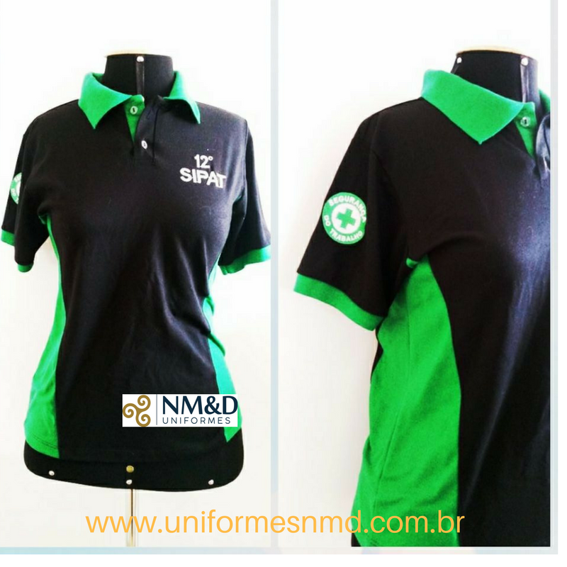 Camiseta Polo- Polo Segurança do Trabalho - Camiseta Uniforme Segurança 1e90102f7a2