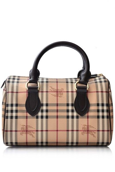 Burberry- Haymarket Large Chester Bowling  Burberry  Handbags ... 8f3a8a748fcdf