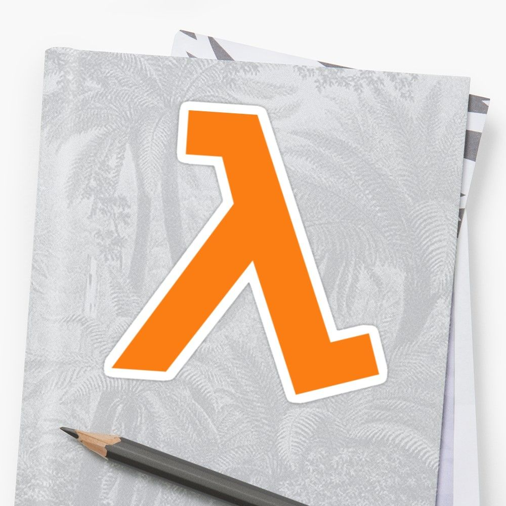 """AWS Lambda"" Sticker by nullable , AFF, Lambda, AWS,"