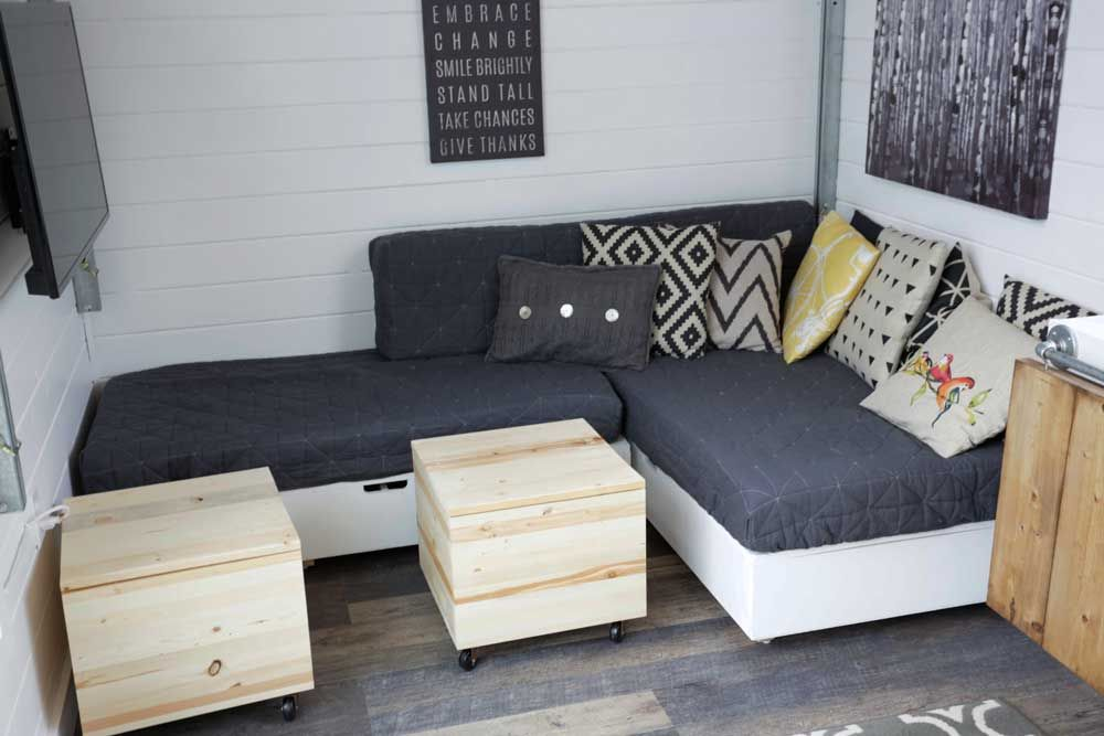 Lift Top Storage Sofa Sectional Seating Bases Tiny House Storage Diy Sofa Diy Couch Cushions