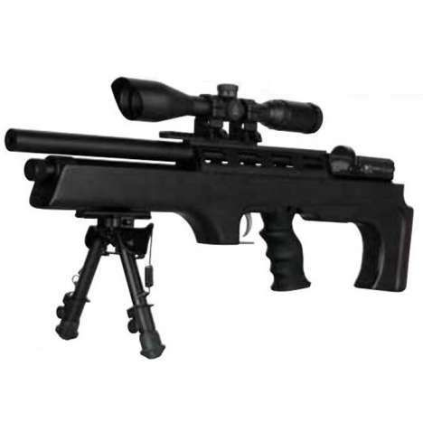 Air Rifle Cometa Orion Bull Pup Black Pcp | Carabinasypistolas.com