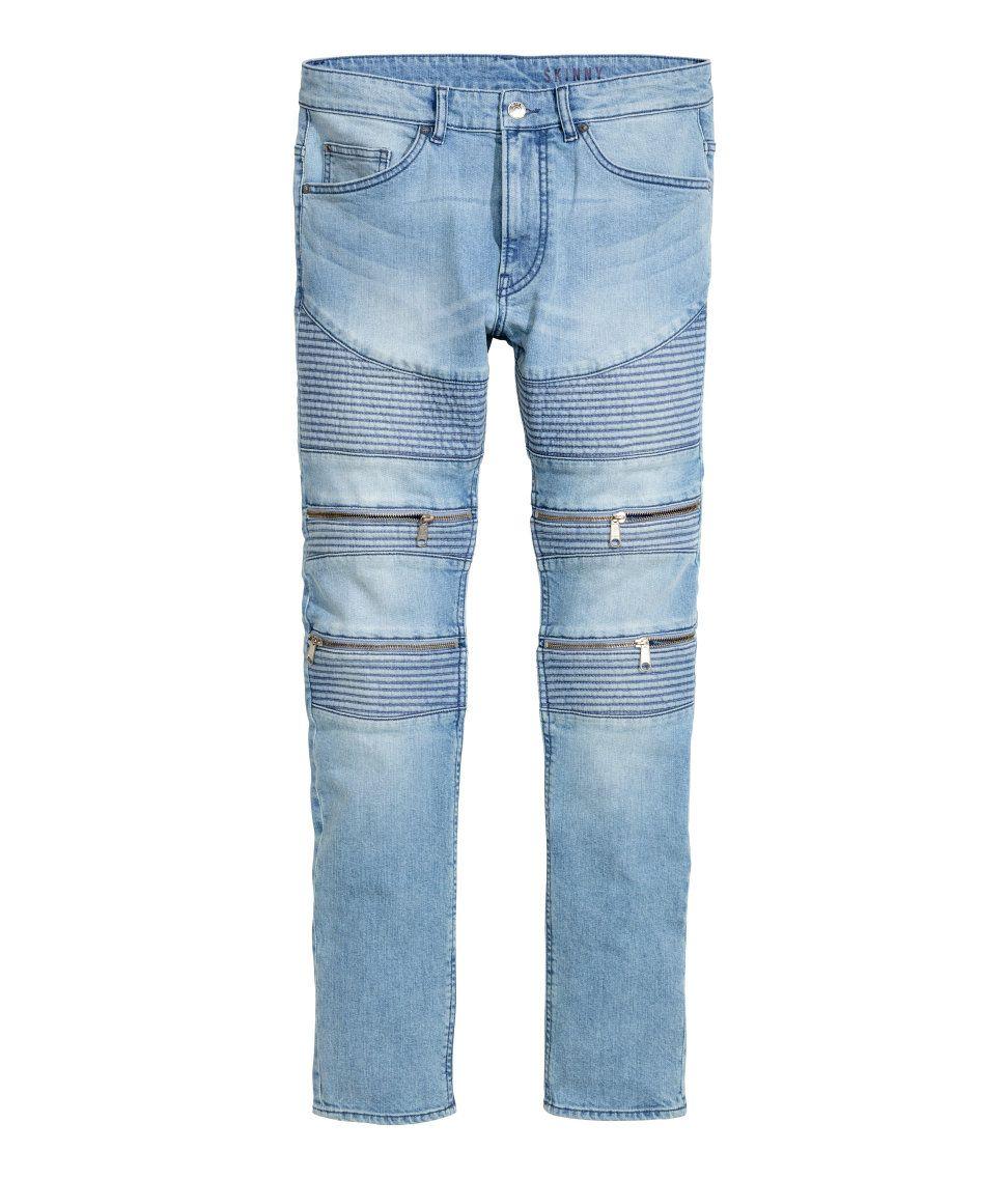 2ea20e25 Skinny Regular Biker Jeans | H&M Divided Guys | H&M MAN DIVIDED ...