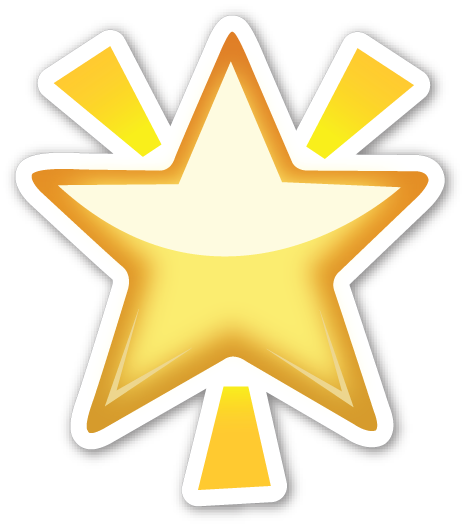 Glowing Star Emojis dibujos, Emojis, Emoticonos