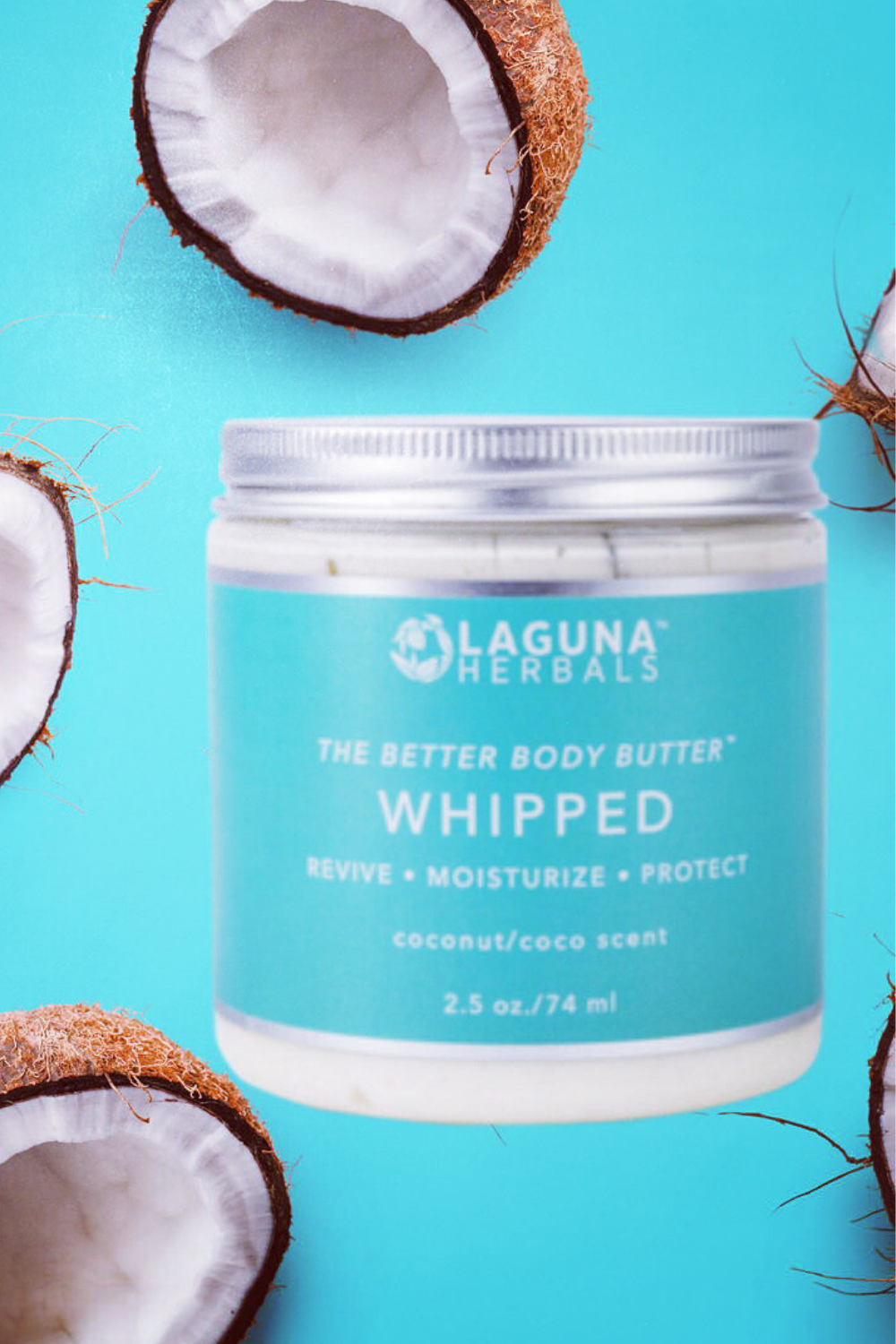 White Chocolate and Virgin Coconut  organic  butters are  WHIPPED into a decadent white cloud ☁body souffle for the most organic skin conditioner for you. #organicbodybutter #lagunaherbals #greenbeauty #organicbodycare
