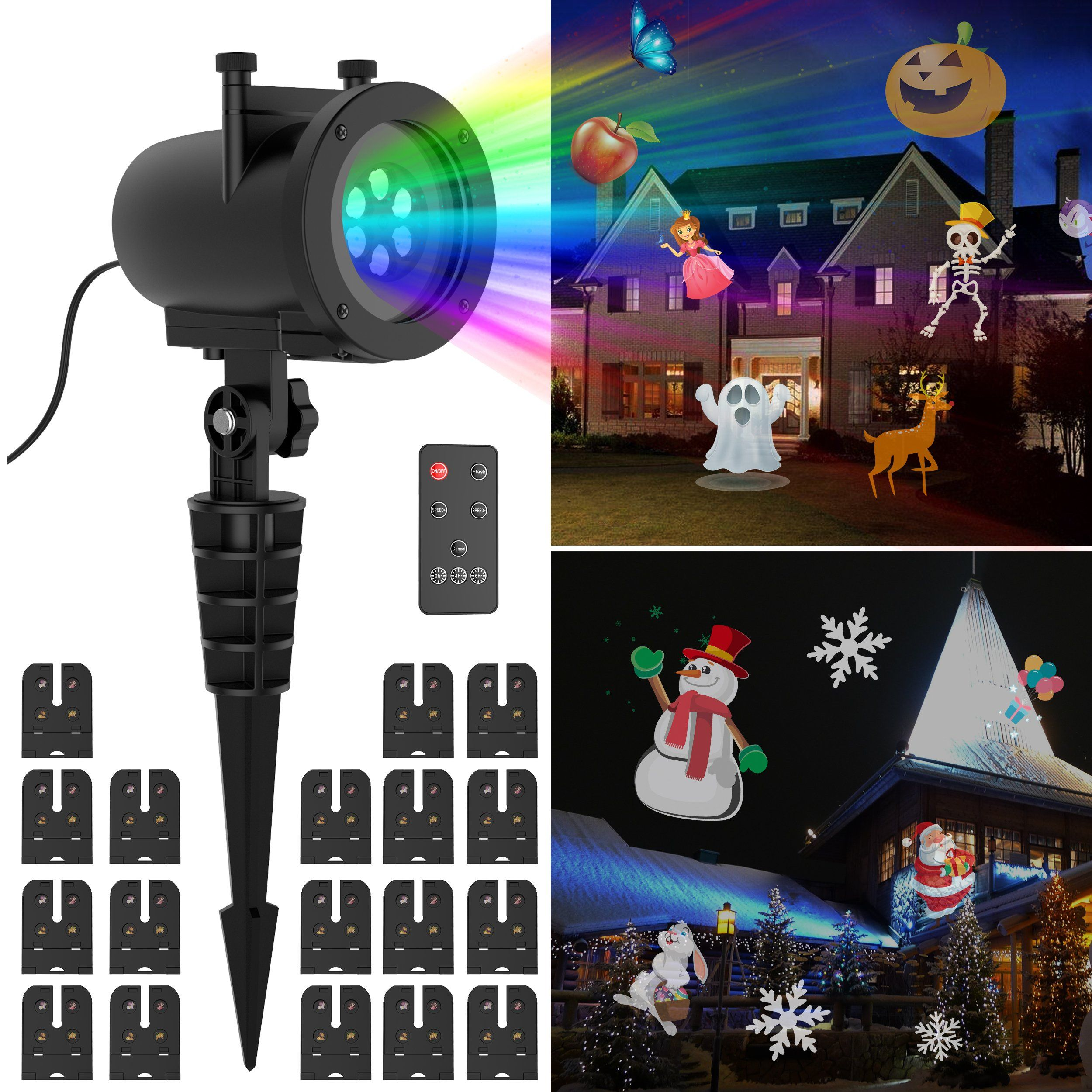 holiday show dreidel a hanukkah gemmy indoor led projection outdoor lightshow lights lighting jewish whirl pin light motion
