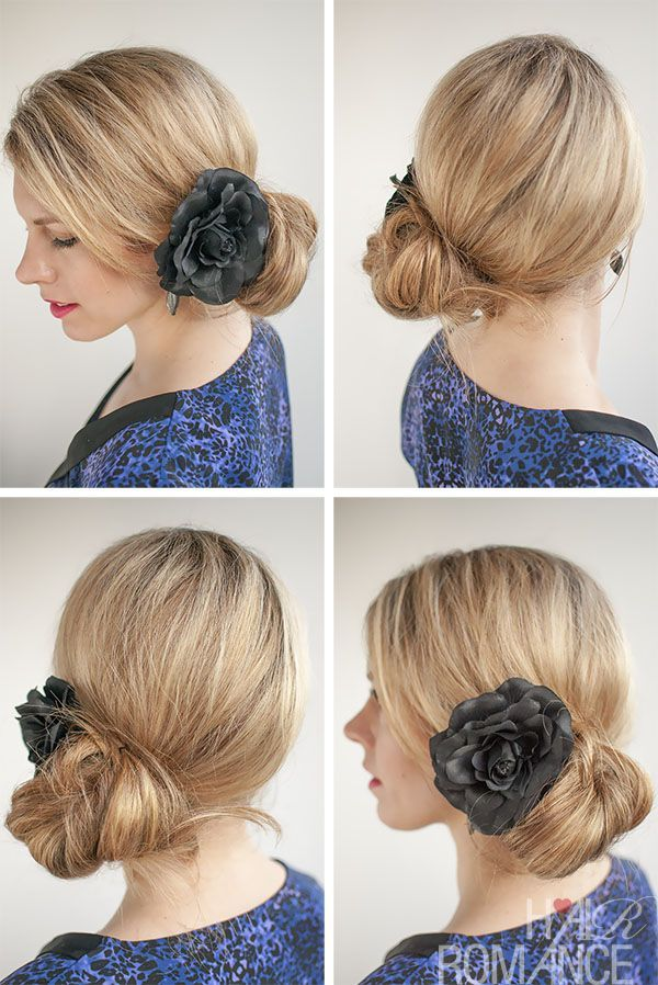 Image Result For Spanish Side Knot Bun Low Bun With Flowers Spanish Hairstyles Hair Romance Hair Styles