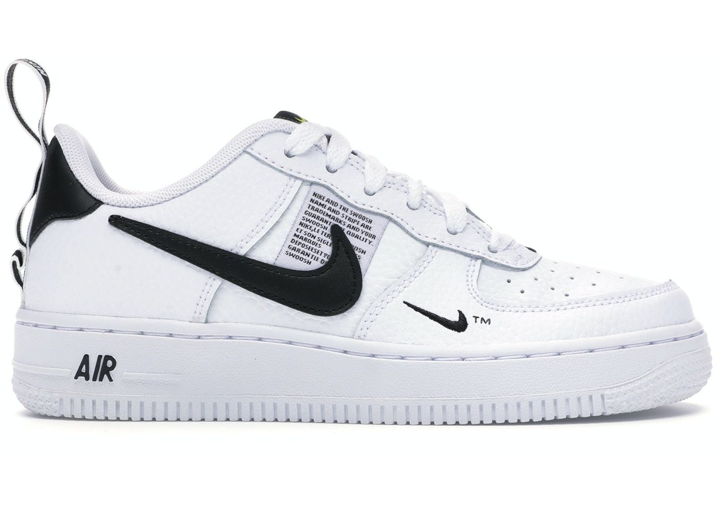 Nike Air Force 1 Low Utility White Black Gs In 2021 Nike Air Force Nike Air Force 1 Low