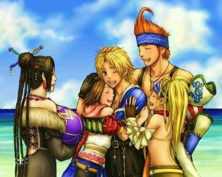 Final Fantasy X 2 I M Pretty Sure This Is What Happened When They Got Up Onto The Shore Lol Lulu Final Fantasy Final Fantasy Art Final Fantasy X