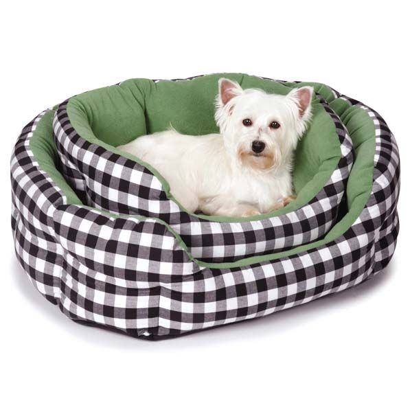 M Isaac Mizrahi Gingham Collection Nesting Dog Bed Dog Bed