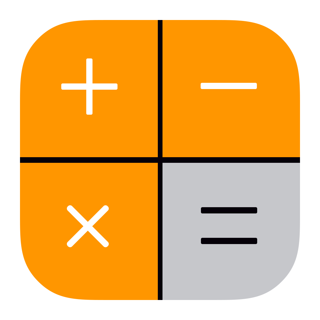 Calculator Icon Png Image Simple Calculator Calculator Apple Ios