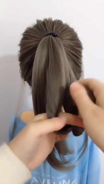 Very Easy To Learn Beautiful And Cute Ponytail Hair Styles Long Hair Styles Cute Ponytail Hairstyles