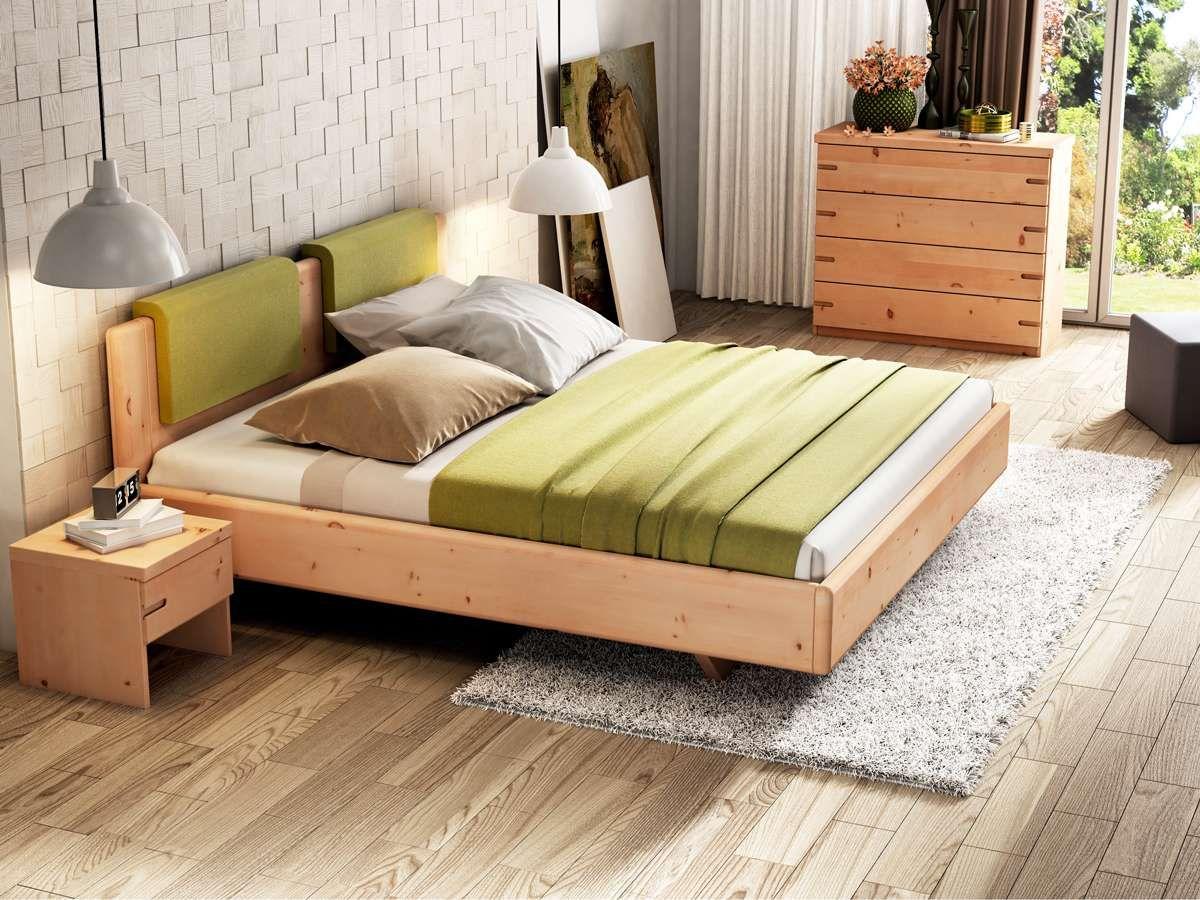 """Zirbenholzbett """"Elisabeth"""" Bett, Schlafzimmer design"""
