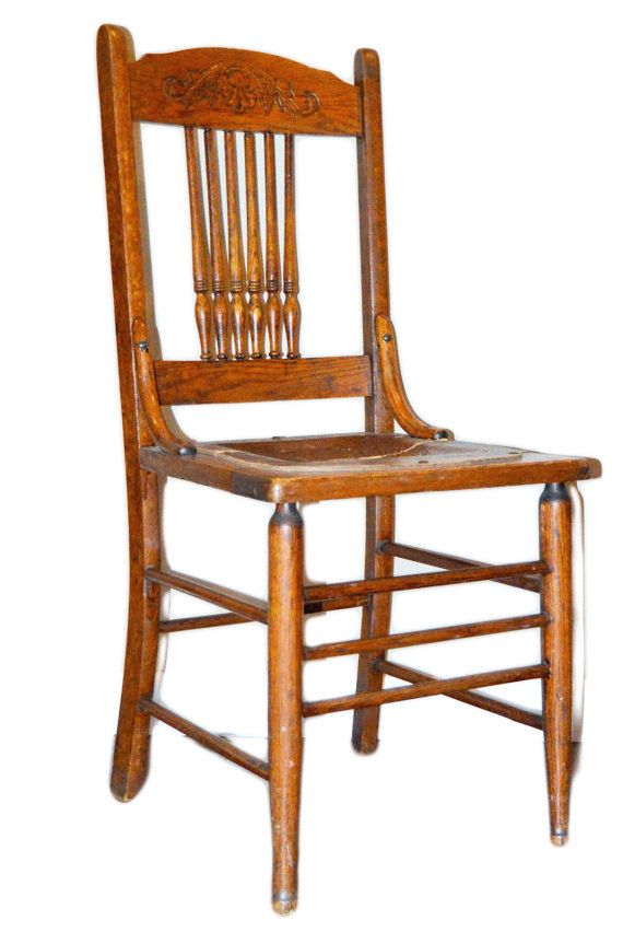 Antique Spindle Back Chair With Leather Seat Oak Rustic Wood Early American Farm House Rustic Vintage Ch Vintage Chairs Antique Oak Furniture Boho Accent Chair