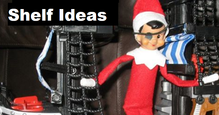 21 Epic Elf on the Shelf Ideas for Lazy Parents