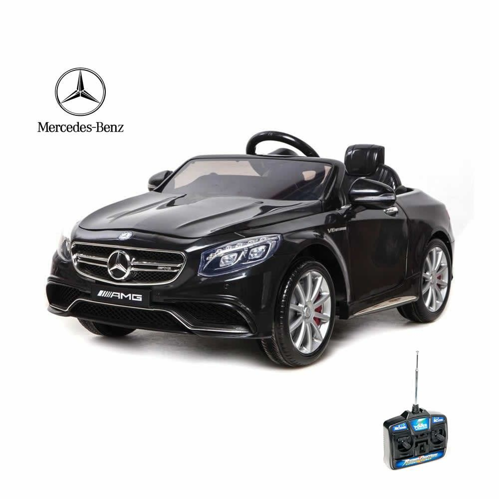 Fully Licensed By Mercedes This 12v Electric Car Comes