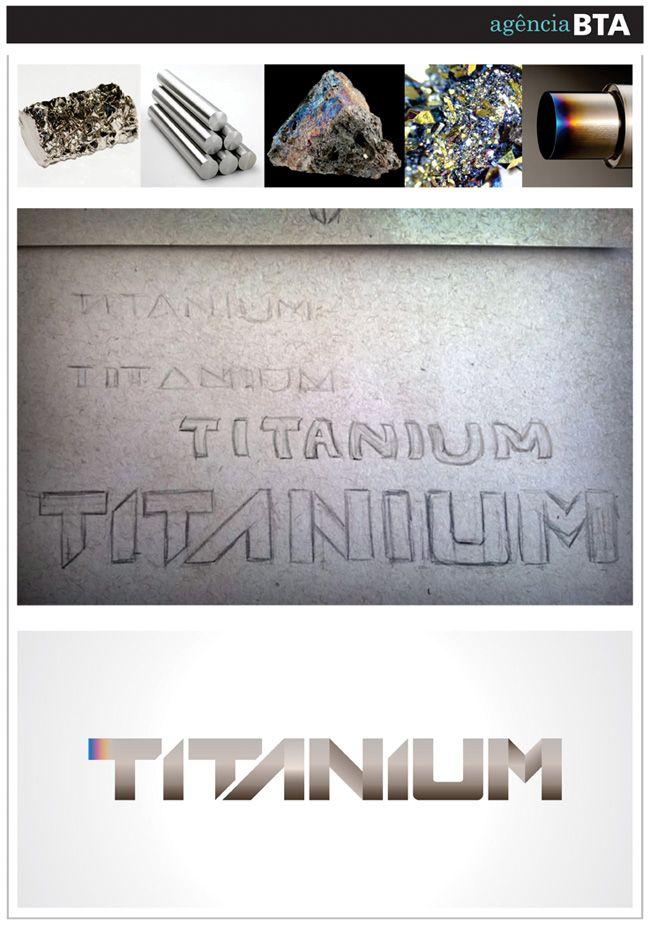 Criação do logo Titanium | cliente PhysicalTec