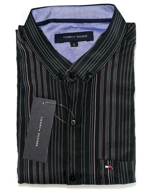 33075dffe Buy Men Cotton Striped Design Shirts   Party Shirts By Tommy Hilfiger  Online in Karachi