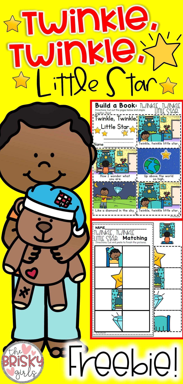 Nursery Rhymes Preschool Twinkle Twinkle Little Star