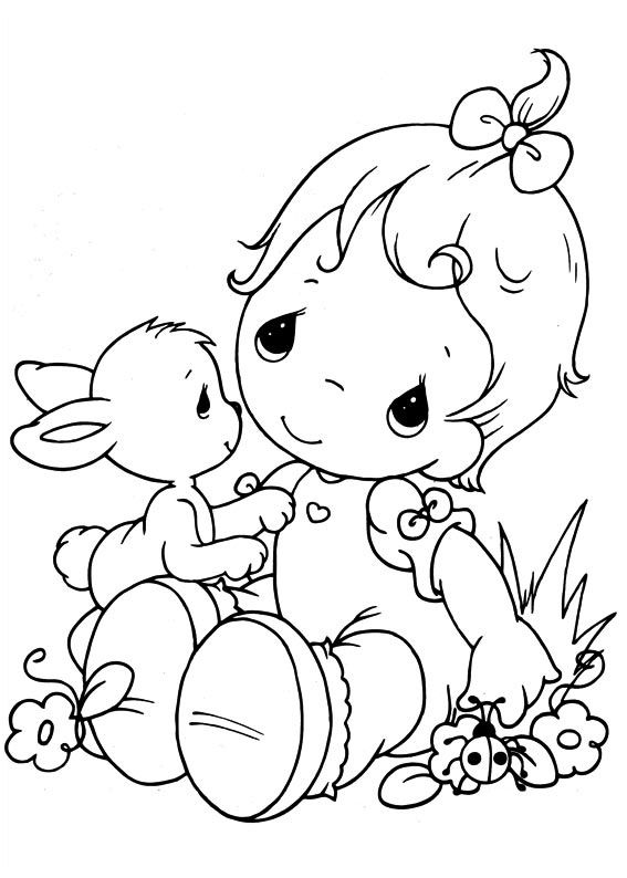 easy printable precious moments coloring pages httpprocoloringcom precious