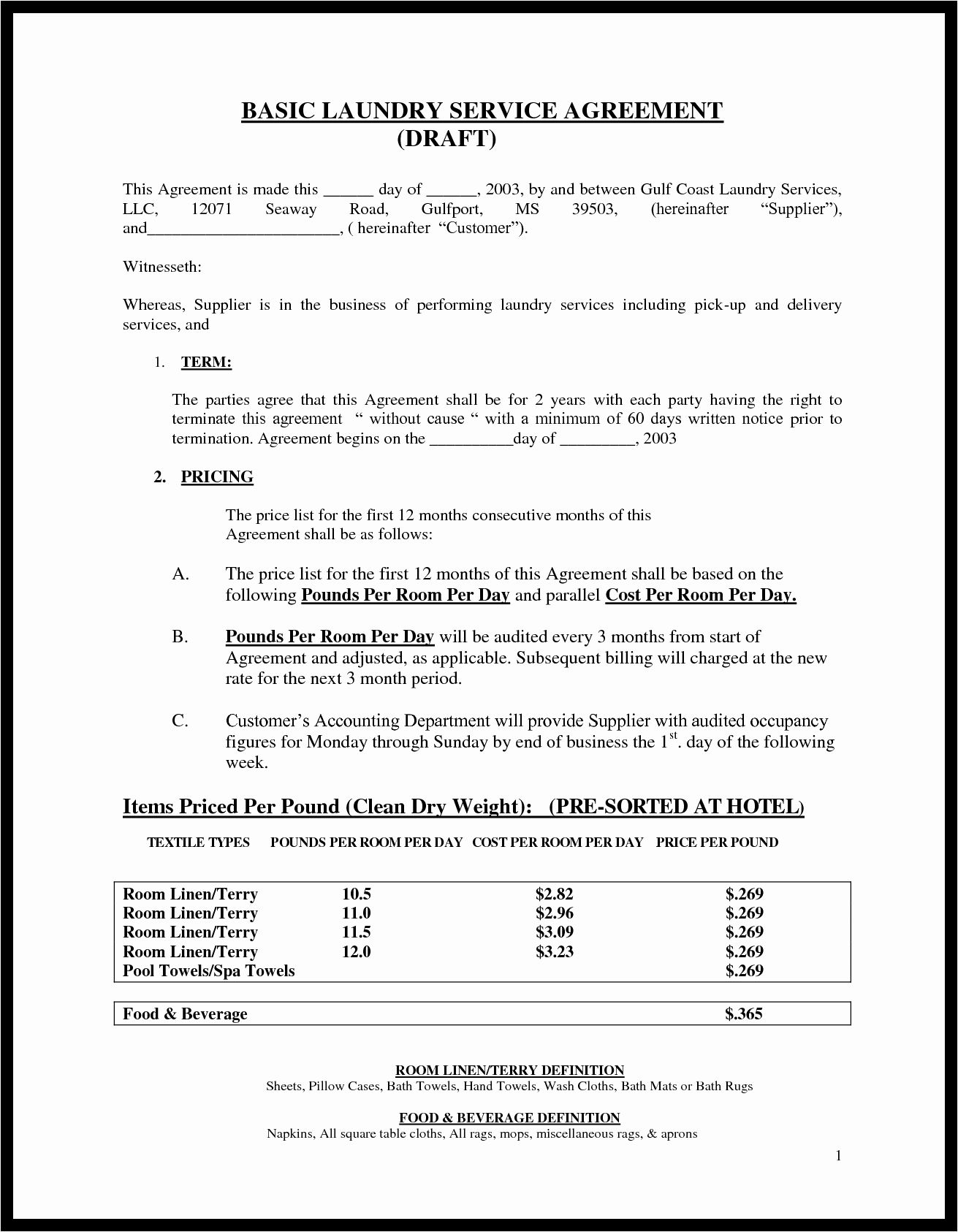 It Service Contract Template Beautiful Basic Service Contract Mughals Contract Template Business Card Templates Download Professional Templates It service level agreement template